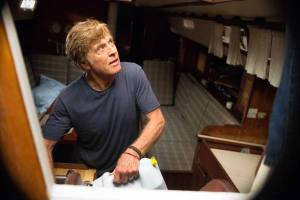 "Robert Redford in ""All Is Lost"""