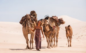 Tracks: Mia Wasikowska as Robyn Davidson in the Australian desert