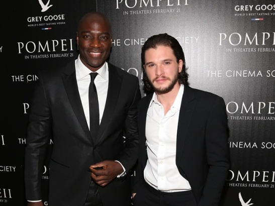 "TriStar Pictures With The Cinema Society And Grey Goose Host A Screening Of ""Pompeii"""