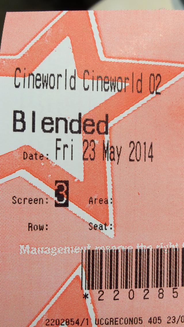 Blended | Ricky's Film Reviews