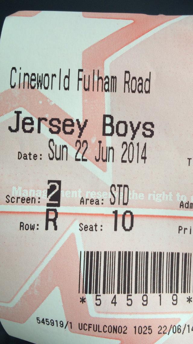 Jersey Boys | Ricky's Film Reviews