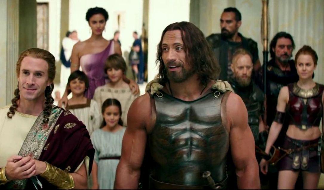 Hercules ricky 39 s film reviews for La roca film