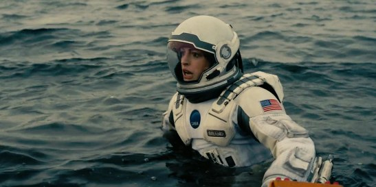 Anne Hathaway i Interstellar