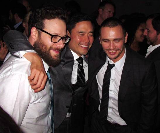 The-Interview-Seth-Rogen-Randall-Park-James-Franco-DTLA