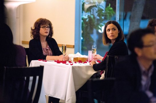 THE MEDDLER, from left: Susan Sarandon, Rose Byrne, 2015. ph: Jaimie Trueblood / © Sony Pictures