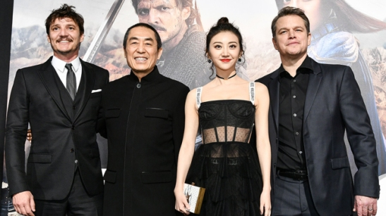 'The Great Wall' film premiere, Los Angeles, USA - 15 Feb 2017