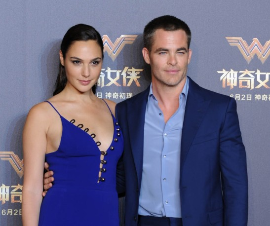 Gal-Gadot-and-Chris-Pine-DC-Wonder-Woman-Shanghai-Premiere-3