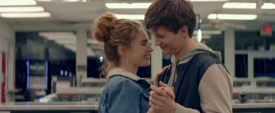 lily-james-and-ansel-elgort-in-baby-driver