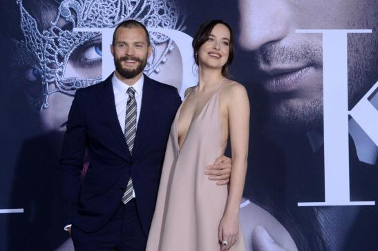 Dakota-Johnson-Jamie-Dornan-dazzle-at-Fifty-Shades-Darker-premiere