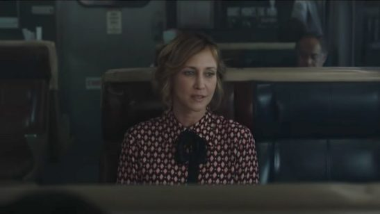 Diamond-print-shirt-Vera-Farmiga-in-The-Commuter-2018