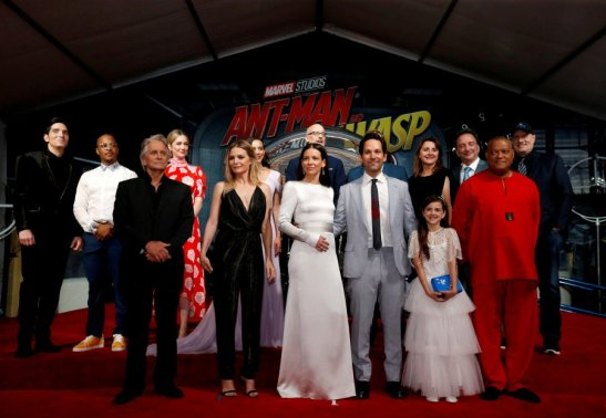 FILE PHOTO: Cast members and crew attend the premiere of the movie ?Ant-Man and the Wasp? in Los Angeles???