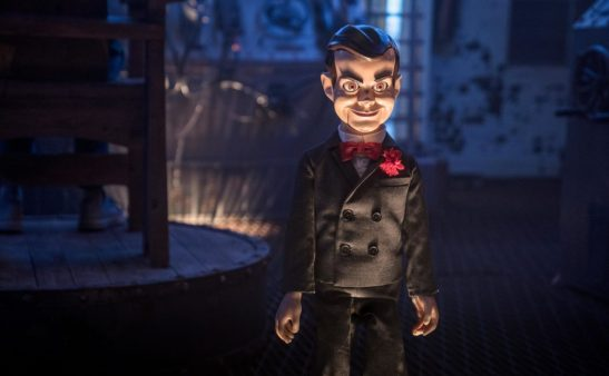 Slappy, in Columbia Pictures' GOOSEBUMPS 2: HAUNTED HALLOWEEN.