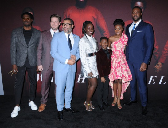 "Cast Arrives For The Universal Pictures Premiere Of ""US"" In NYC"